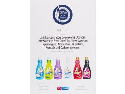 The Silver Award for Booster Concentrated Fabric Conditioner series